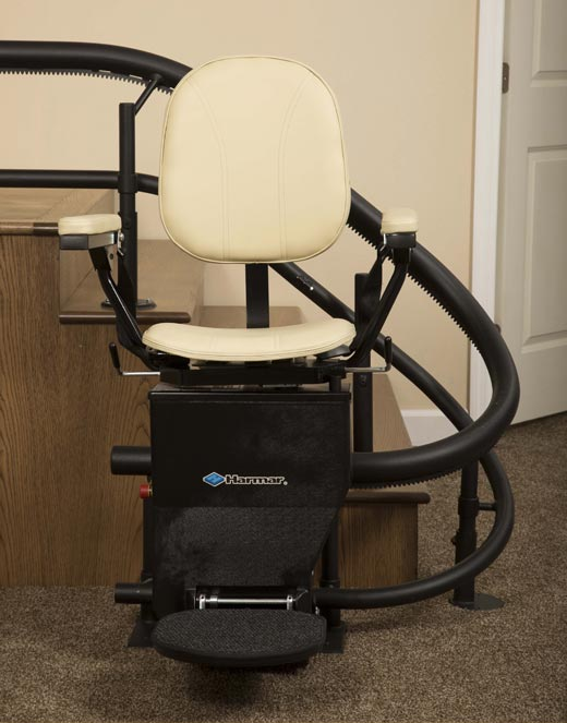 Harmar Helix Curved Stairlift