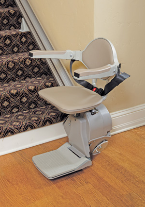 Elan Straight Rail los angeles ca Stairlift Model SRE-3000