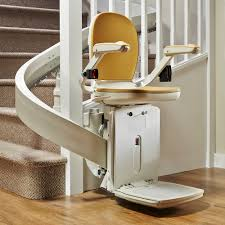 san bernardino stairway staircase bruno elan Elite SRE2010 curve stairlifts and acorn indoor outdoor stairchairs
